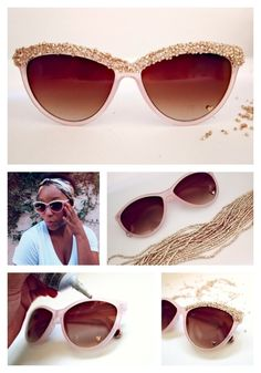 DIY sunglasses ideas