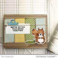 Nut'n Better Squirrel Handmade Card