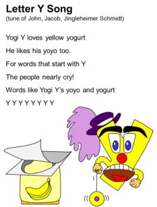 Letter Y Song Lyrics