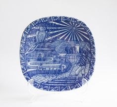 Rorstrand 1977 Christmas Collectors Plate Gunnar by WellPlated