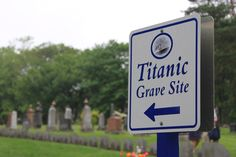 Until I visited the Canadian Maritime I did not realize that it was the closest port to the Titanic disaster/sinking. There are three graveyards in Halifax, Canada where victims are buried. A very moving experience. Photo by: John M. Titanic Museum, Rms Titanic, Halifax Canada, Dublin Pubs, Titanic Photos, Maritime Museum, Graveyards, Prince Edward Island, Quebec City