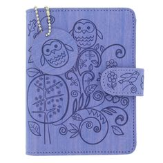 Purple mini organiser for 2013 with debossed woodland design, exclusive to Paperchase. #organiser #diary #stationery