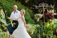 A cosy Scottish backyard wedding ceremony in Nairobi, Africa photos by Maiafreia photography www.maiafreia.com