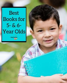 A huge list of the best phonics books, easy readers, and early chapter books for 5-year and 6- year old boys and girls in kindergarten and first grade.