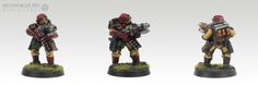 Stormtrooper Grenade Launcher Inquisitor Witchhunter Sisters of Battle Adeptus Sororitas IG Imperial Guard Warhammer 40K