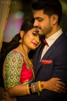 Check out bridal portraits from Anusha and Savan's wedding by Ganesh Photography Read Indian Wedding Poses, Indian Wedding Couple Photography, Wedding Picture Poses, Wedding Couple Poses Photography, Couple Picture Poses, Couple Photoshoot Poses, Wedding Photoshoot, Photoshoot Pics, Couple Posing