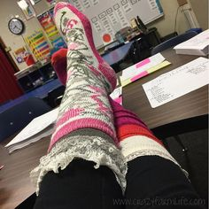 """I picked a good day to sub. It's CraZy sOcK DaY at school❗️❗️ #crazysockday #spiritweek #mustache"" Photo taken by @cassiebshelton on Instagram, pinned via the InstaPin iOS App! http://www.instapinapp.com (10/28/2015)"