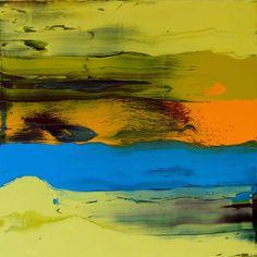 "Saatchi Art Artist Johann Nußbächer; Painting, ""Working in varnish 10"" #art"