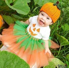 pumpkin patch tutu outfit