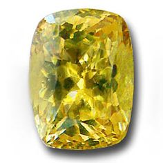 Exceptional Yellow Sapphire from Northern Kenya. Closely resembling a Canary Diamond due to its more crisp yellow hue. Completely natural with no treatments, this is rare these days as most yellow sapphire is treated.