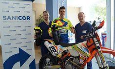 Ortopedia López patrocina a la promesa del enduro y crosscountry León Carlos Toledano