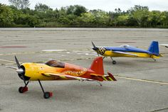 Radio controlled airplanes!