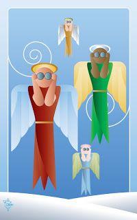 SPINOOLEAN: Noo Spinoolean Tarot - The Viewing Angels