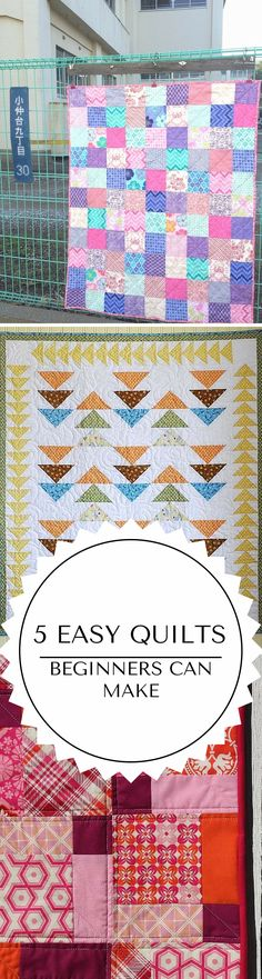 Easy quilts for beginners