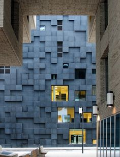 Best Ideas For Architecture and Modern Design : – Picture : – Description Barcode Project / Lund Hagem Architects, Oslo Architecture Design, Amazing Architecture, Contemporary Architecture, Landscape Architecture, Building Architecture, Installation Architecture, Building Exterior, Gothic Architecture, Contemporary Design