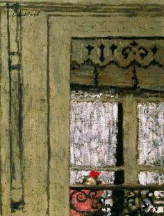 bofransson:  Edouard Vuillard - Child at a Window ca. 1901