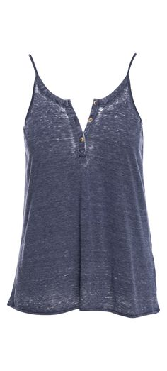 Chaser Flounce Henley Cami in Cove / Manage Products / Catalog / Magento Admin