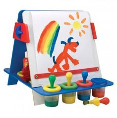Tabletop Easel that would be simple to take up and down in the classroom