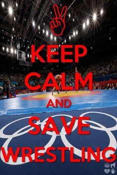 Save Olympic Wrestling [ ProTuffDecals.com ] #wrestling #decal #sports