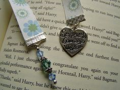 serenity courage wisdom ribbon bookmark by JDooreCreations on Etsy