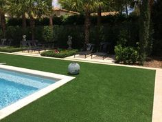 pool with artifical turf - Google Search