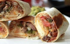 Mini Grilled Steak Burrito...remember, make it easier by using store bought items! :o)