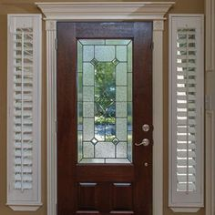 Awesome Entry Door Sidelight Blinds