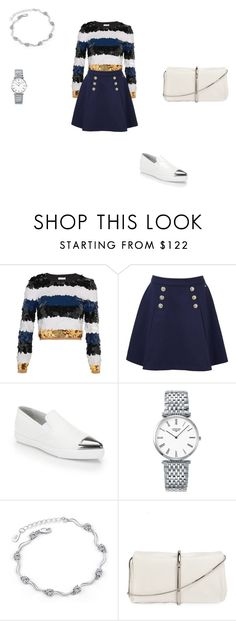 """Untitled #27"" by adellashaqnaz on Polyvore featuring Sonia Rykiel, Tommy Hilfiger, Miu Miu, Longines and 3.1 Phillip Lim"