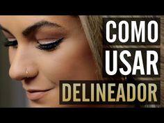 Como Usar Delineador com Alice Salazar - Canal TOP - YouTube