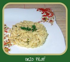 Orzo Pilaf is an easy alternative to rice