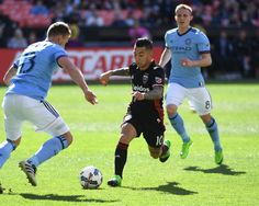 D.C. United midfielder Luciano Acosta (10) works the ball against New York City FC defender Frederic Brillant (13) during United's 2-1 over NYCFC at RFK Stadium on Saturday. (Photo by Jonathan Newton/The Washington Post)  D.C. United unwrapped the 2017 schedule this winter to find four of...  http://usa.swengen.com/d-c-united-picks-up-three-key-points-at-home-against-nycfc-2-1/