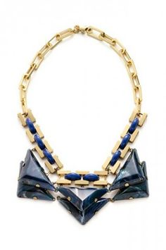 Tory-Burch Ethan collar necklace