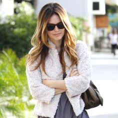 Love Rachel Bilson's hair here!