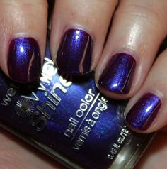Wet n Wild, Eggplant Frost   from Vampy Varnish