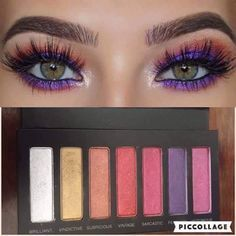 Dramatic eye look using Moodstruck Addiction Palette 5 by Younique. So beautiful! #palette5 #dramaticeye #hellogorgeous