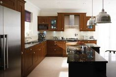 Tropical Brown Kitchen