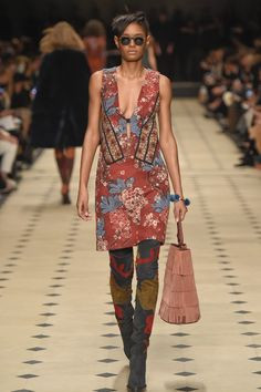 Burberry Prorsum RTW Fall 2015 -just look at those boots!!