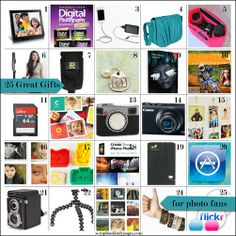 25 gifts for photography fans