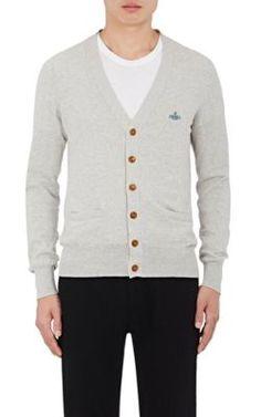 VIVIENNE WESTWOOD Cotton Cardigan. #viviennewestwood #cloth #cardigan