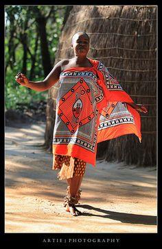 Traditional Dance - Kingdom of Swaziland, Africa