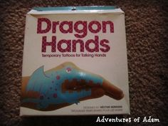 Dragon Hand Tattoos – Day 75 Toddler Play Challenge