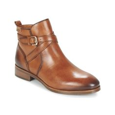 Schuhe Damen Boots Pikolinos ROYAL W4D Cognac