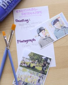 Science Fair: Painting and Photography: Which Produces the Greater Emotional Response?