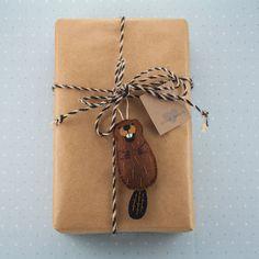 Image result for beaver felt ornament