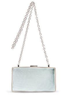 Mango metallic handbag