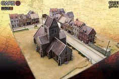 PlastCraft Go 15mm With Their New World War II Color-ED Terrain - 15mm Historical Terrain (Alt)