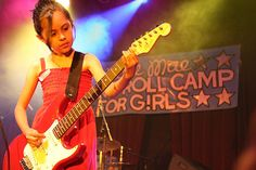 Willie Mae Rock Camp for Girls....