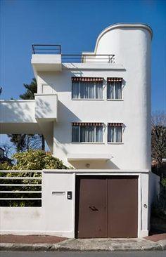 Le Corbusier – Charles-Édouard Jeanneret-Gris (1887-1965) | Villas Lipchitz-Miestchaninoff | Boulogne-sur-Seine, France | 1923