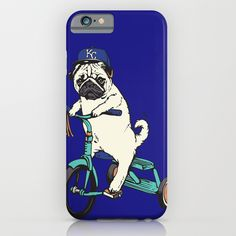 Royals Pug iPhone & iPod Case
