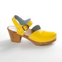 Fab.com | Mary Jane Clog Med Yellow